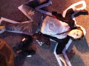 Rachel crime scene