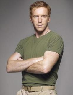 Damian Lewis as Brody.