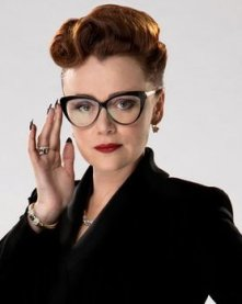 Keeley Hawes as Ms Delphox in Doctor Who.